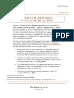 Hispanics of Cuban Origin in the United States