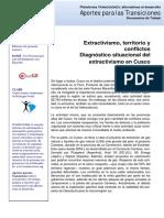 Borda_ Extractivismo, territorio y conflictos  Diagnóstico situacional del extractivismo en Cusco.pdf