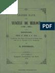 (1860) Legende Slave Din Veaculu de Mijlocu (1169-1237). Nemanii. Vietile Sf. Simeon & Sf. Sava [S. Popescu]