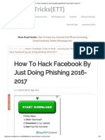 How to Hack Facebook by Just Doing Phishing 2016-2017 _ ExtraTipsTricks(ETT)