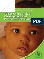 Knoweledge Attutude Beliefs and Practices Study Report - Child Survival