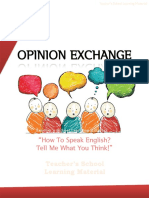 Opinion Exchange