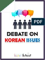 Debate on Korean Issues