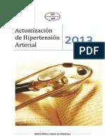 Actualización de Hipertensión Arterial