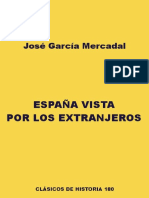 Garcia Mercadal Jose - España Vista Por Los Extranjeros