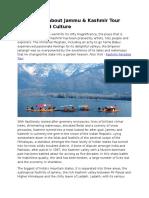 Information About Jammu