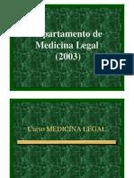 Curso de Medicina Legal - Chile