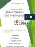 Dimensiones Morales