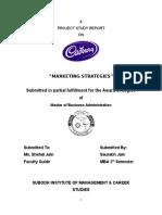 Cadbury Marketing Strategies RTU