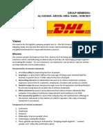 DHL Final Doc