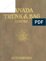 (1922) High Grade Baggage Canada Trunk & Bag (Catalogue)