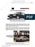 Best Cars Web Site - Carros Do Passado - Chevrolet Opala