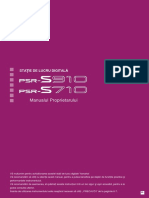 Manual Utilizare PSR 710-910_RO