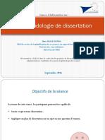 La Méthodologie de Dissertation