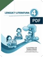 Cuaderno de Trabajo Literatura 4to Egb