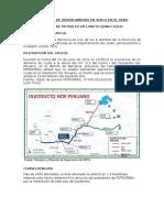 Derrames de Hidrocarburo en Suelo en El Peru