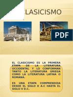 Clasicismo Greco Latino