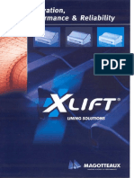 1-X Lift Liner Catalogue