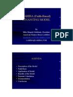 LARIBA 2003 - Finance Model