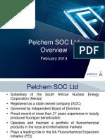 Pelchem Overview August 2014