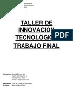 Taller de Innovación Tecnologica Trabajo Final
