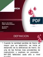 Anemiaferropenica