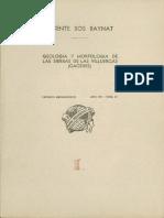 Geologia y Morfología de Las Sierras de Las Villuercas (Caceres)