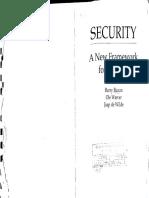 BUZANetal 1998 BOOK Security a New Framework for Analysis