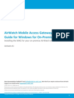 AirWatch MAG Install Guide for Windows v8_2