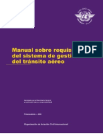 Doc. 9882 Requisitos Del Sistema de Gestion Ats Es