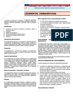 Establecimientos Farmacéuticos. Perú.
