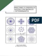 Rubio Perez Pablo - Transformaciones Elementales Y Compuestas Con Matrices Y Determinantes