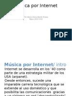 Presentación música