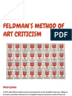 feldmans method of art criticism