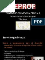 diapositivas  CEPROF