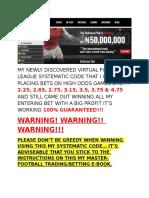 Virtual Football Package