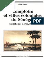 Comptoirs et village colonials Du senegal.pdf
