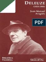 Aragues Juan Manuel - Gilles Deleuze 1925 - 1995