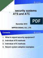 Sistema de Senañizacion Ferroviaia ATS Y ATC