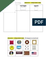 starr - math workshop independent tasks