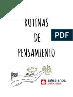Guía Didáctica Rutinas de Pensamiento Salesianos Santander