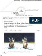 Udo Di Fabio - Begegnung Mit Dem Absoluten