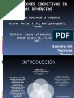 Alteraciones cognitivas en las demencias final.ppt