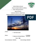 Tarifas de Energía Eléctrica en Baja y Media Tensión Cfe
