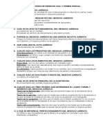 Cuestionario de Derecho Civil
