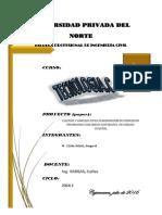 paper estudio y elaboración del concreto