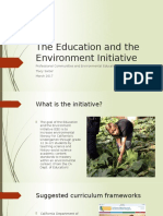 goal 2-the education and the environment initiative
