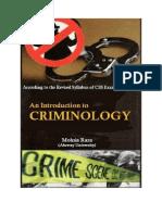 Criminology Notes (Mohsin Raza)