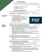 starr resume - december 2016
