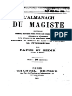 L'Almanach Du Magiste 2 - 1895-1896